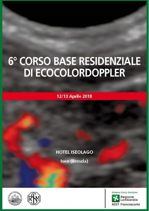 6° CORSO RESIDENZIALE DI ECOCOLORDOPPLER