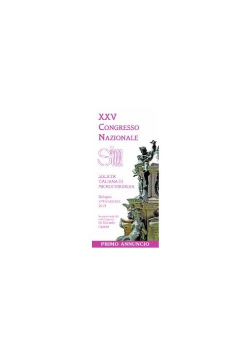 XXV Congresso Nazionale della Società Italiana di Microchirurgia