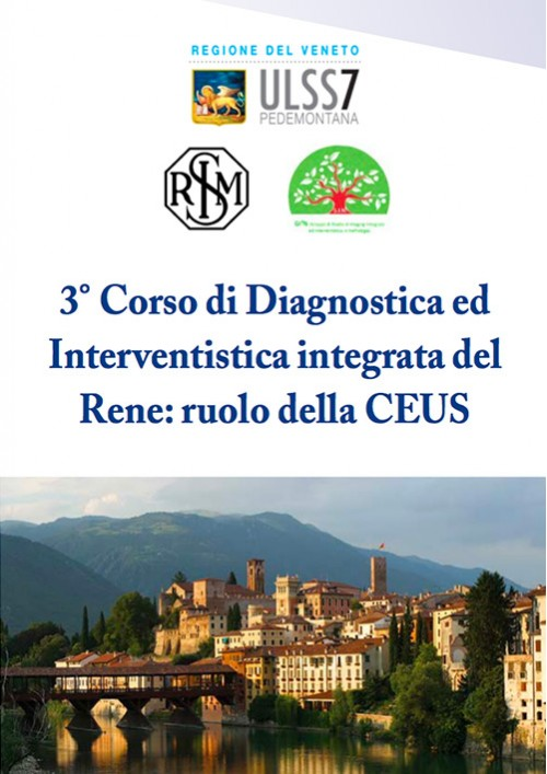 3° Corso di Diagnostica ed Interventistica Integrata del Rene: ruolo della CEUS