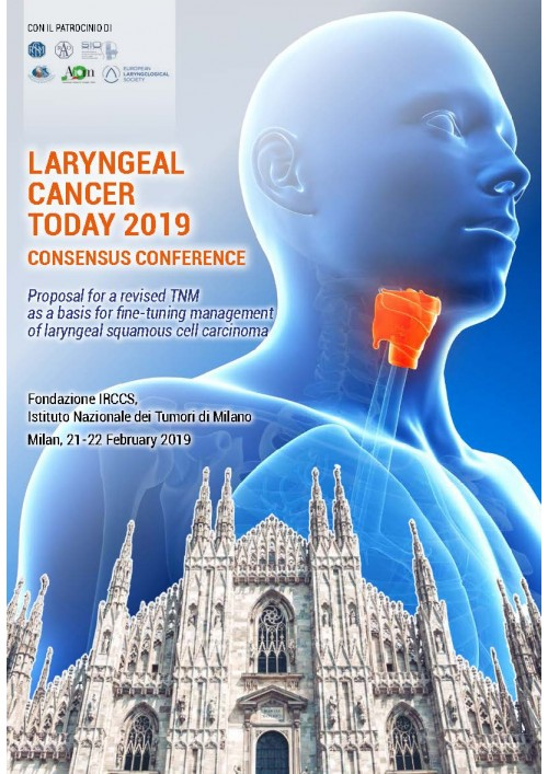 LARYNGEAL CANCER TODAY 2019
