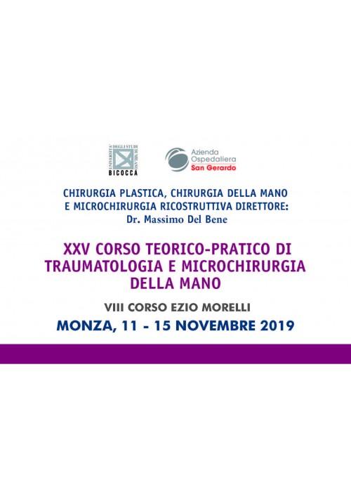 XXIV CORSO TEORICO-PRATICO DI TRAUMATOLOGIA E MICROCHIRURGIA DELLA MANO